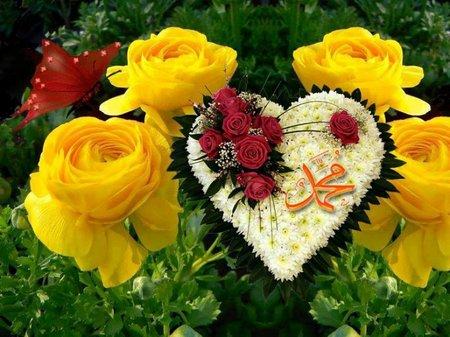 Muhammad hati bunga kuning