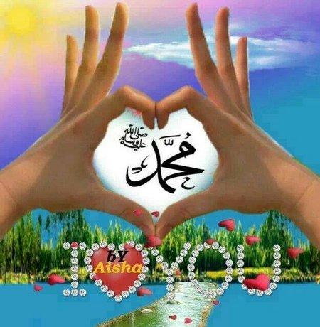Muhammad love jari tangan