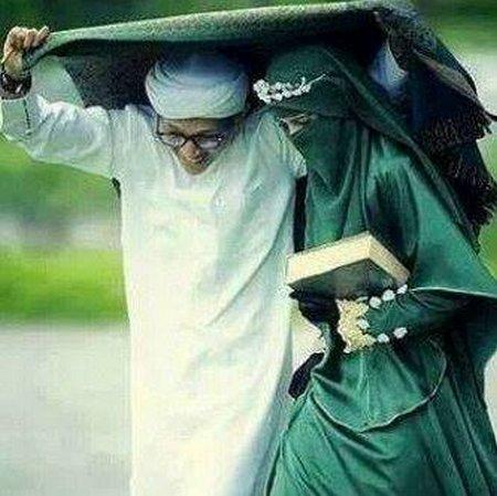 pengantin hijau 1