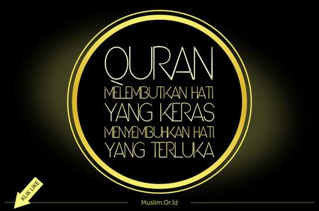 Quran melembutkan hati