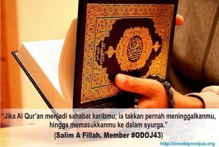 Quran sahabat karib