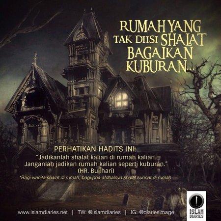 Rumah laksana kuburan