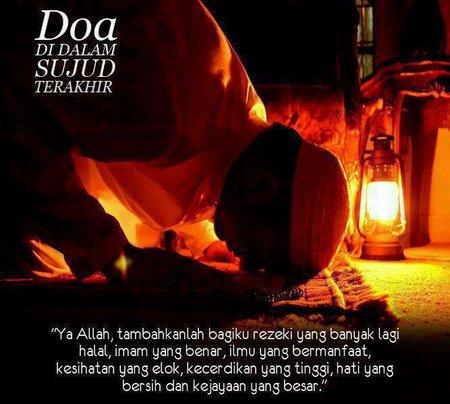 Sujud dan doa