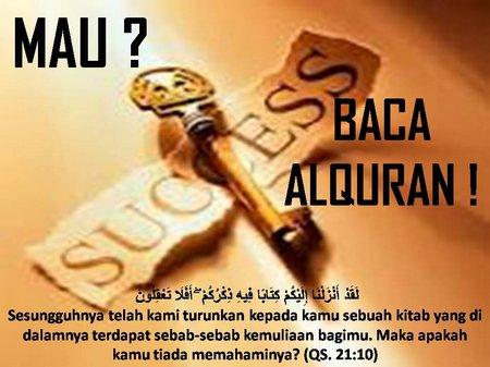 Sukses baca quran