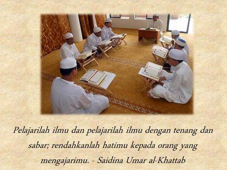 Umar bin khattab ilmu