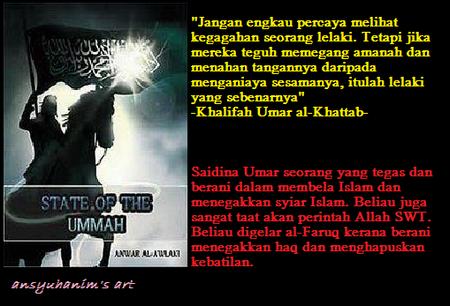 Image result for 8 NASEHAT UMAR BIN AL-KHATTAB TENTANG KUNCI KEMULIAAN :