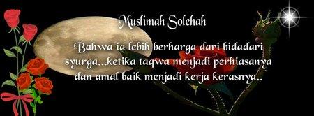 Wanita Sholehah berharga dari bidadari