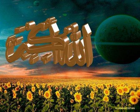 Allah huakbar bulan hijau