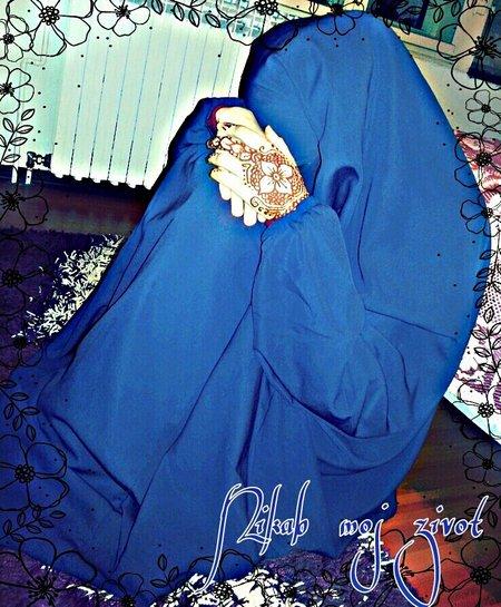 Cadar biru nyuuh