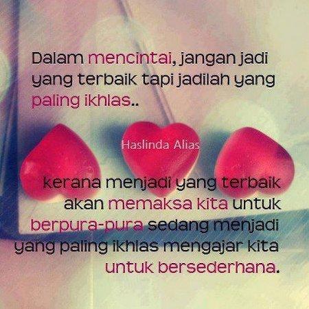 Cinta yg ikhlas