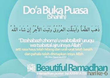 Ini Doa Buka Puasa Yang Benar Hafalkan Yuk By Islamdiaries Blognyafitri Part Ii