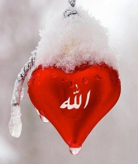 Hati allah merah 1