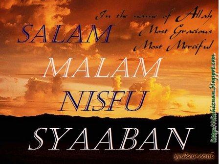 nisfu syaaban malam dan salam