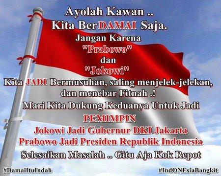pemilu bendera
