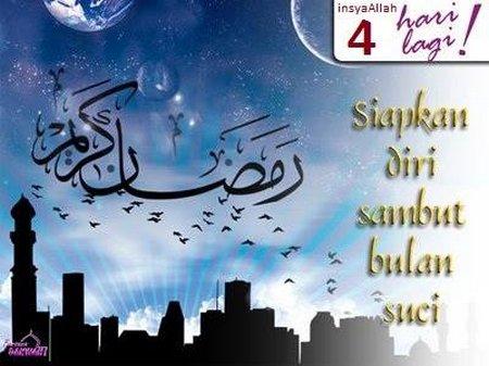ramadhan 4 hari