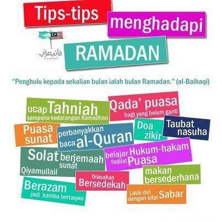 Ramadhan dan tips nya