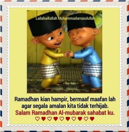 Ramadhan maaf maafan