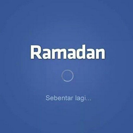 Ramadhan sebentar lagi