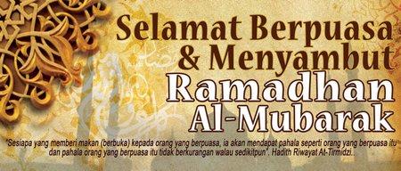 Ramadhan selamat berpusa