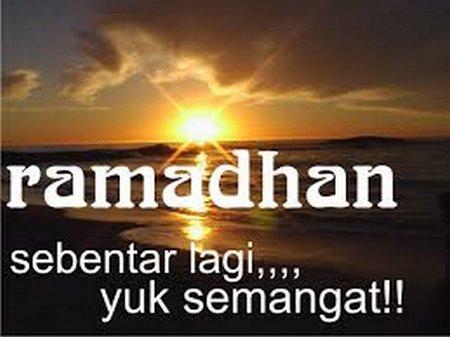 Ramadhan semangat