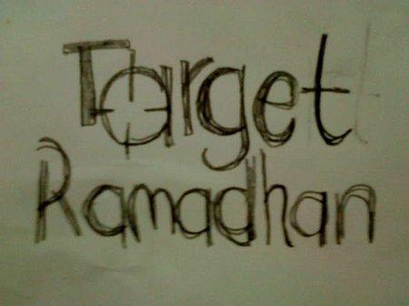 Ramadhan Target