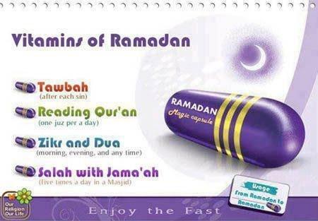 Ramadhan vitamin