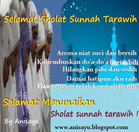 Selamat Shalat Tarawih
