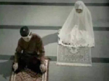 Shalat malam suami istri