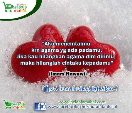 Cinta karena agama hati