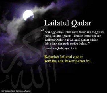Malam Lailatul Qadar Malam Yang Indah Blognyafitri Part Ii