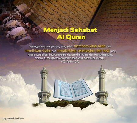 Menjadi sahabat Al Quran