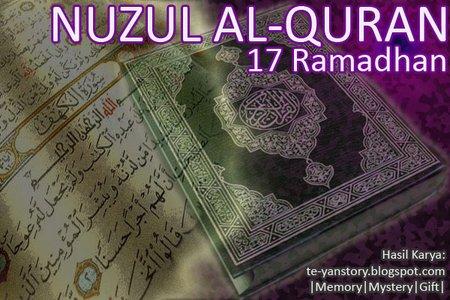 Nuzul Quran 17 ramadhan