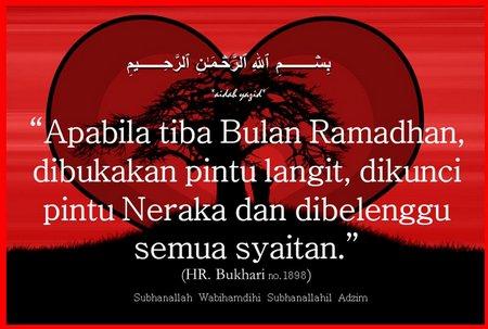 Ramadhan pintu terbuka
