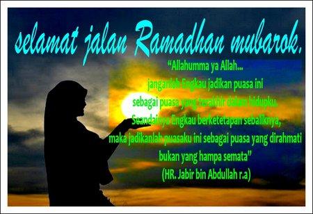 Ramdhan selamat jalan