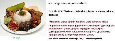 Sahur makan