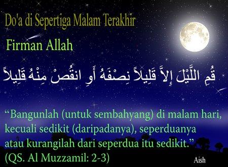 Tahajud doa
