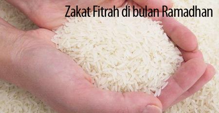 zakat-fitrah beras