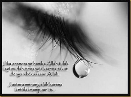 Air mata tdk mampuan