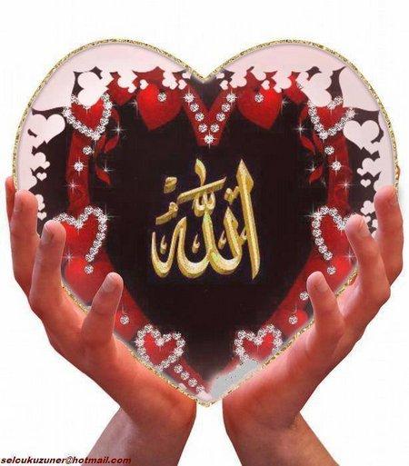 Allah hati dan tangan