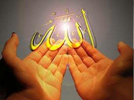 Berdoa lelaki allah