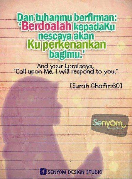 Berdoa pada allah