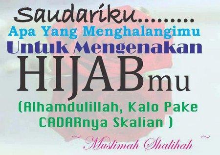 Cadar dan hijab