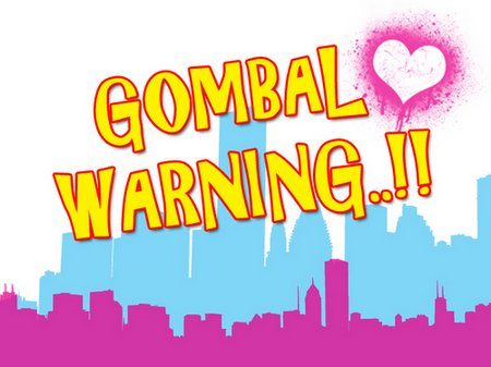 Gombal warning pink