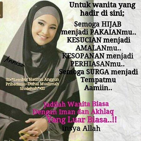 Wanita biasa Iman dan akhlak