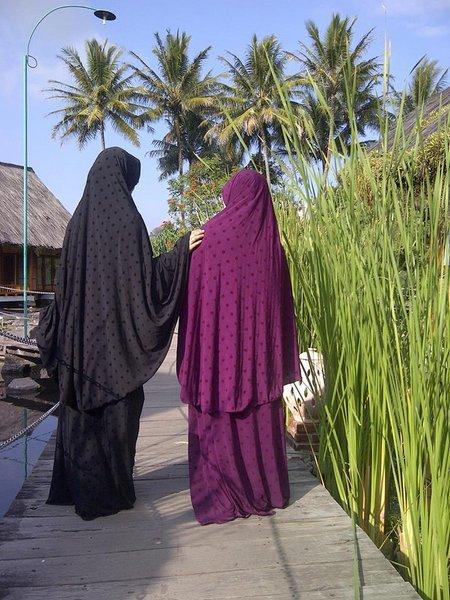 Wanita Muslimah syari