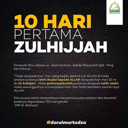 10 perama zulhijah