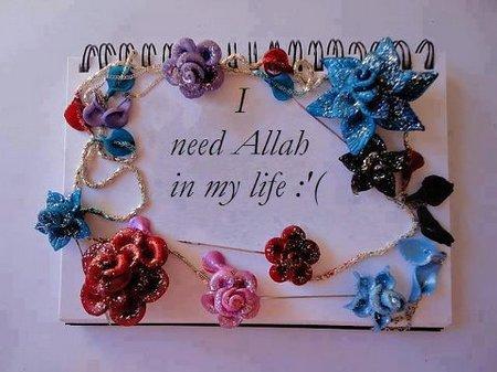 Allah aku butuh