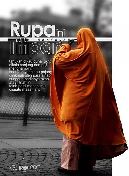 Hijab Rupa titipan
