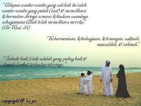 Istri taat suami dan keluarga