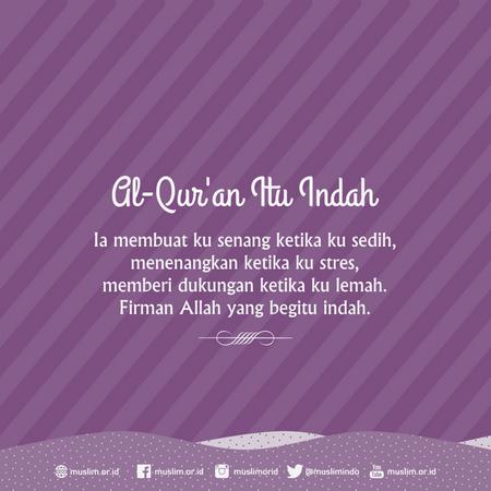 Quran itu indah